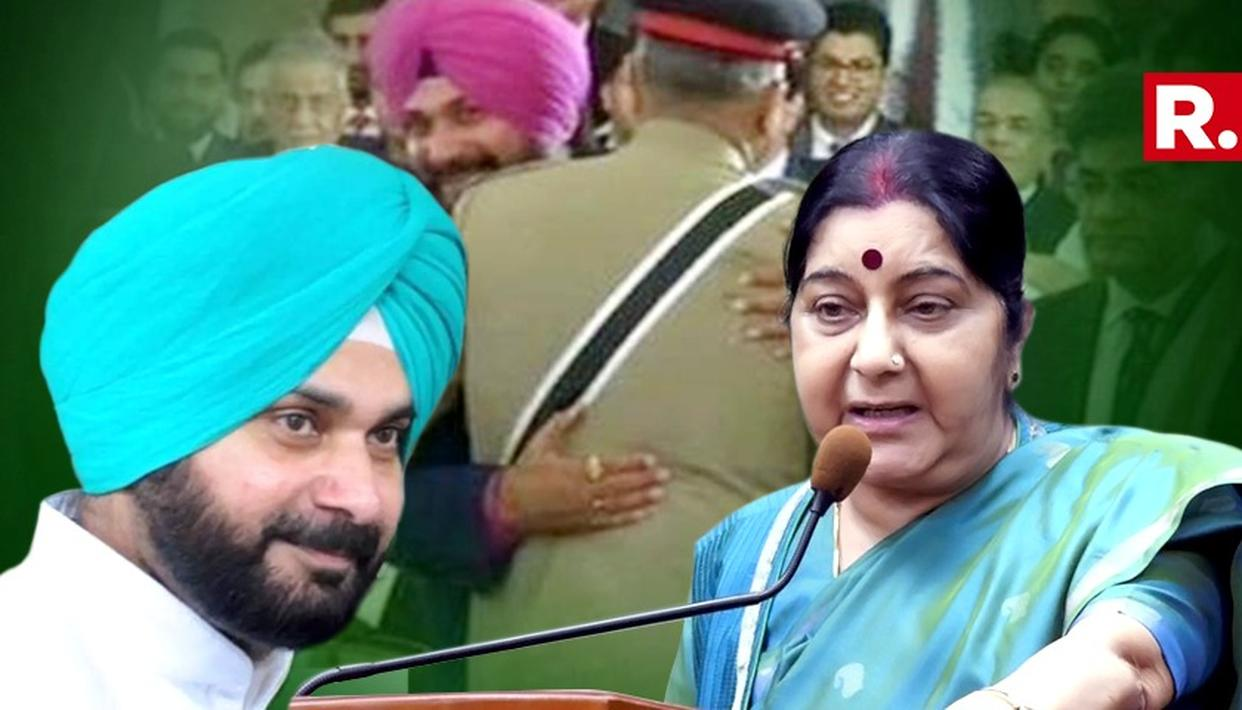 WHEN SUSHMA SWARAJ STUMPED SIXER SIDHU FOR A GOLDEN DUCK
