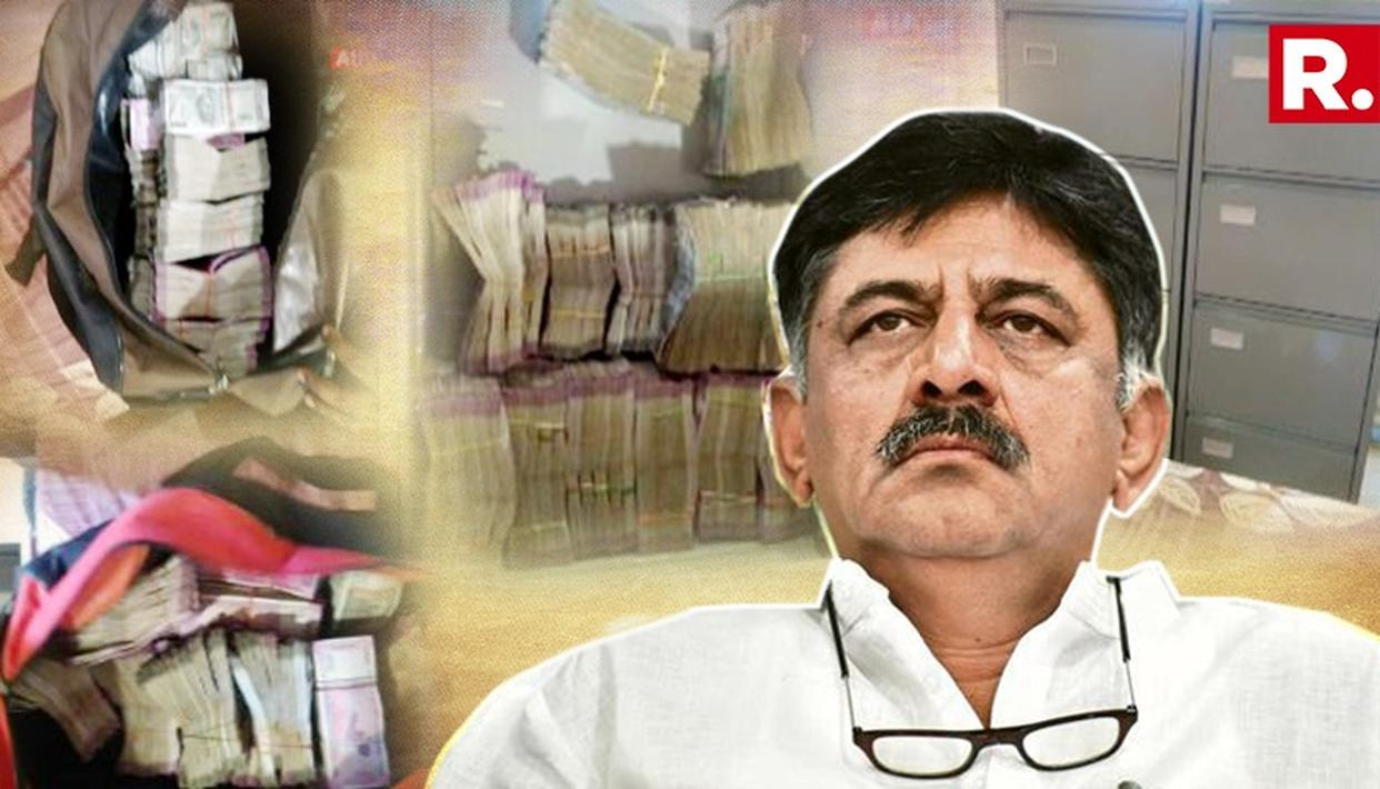 DK SHIVAKUMAR BOOKED BY ED IN MONEY LAUNDERING CASE