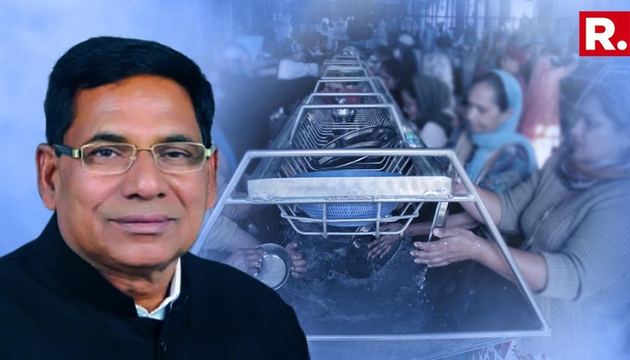RAJE'S MINISTER MAKES HIS PUBLIC WASH DISHES THEN GIVES OUT A BIZARRE EXPLANATION