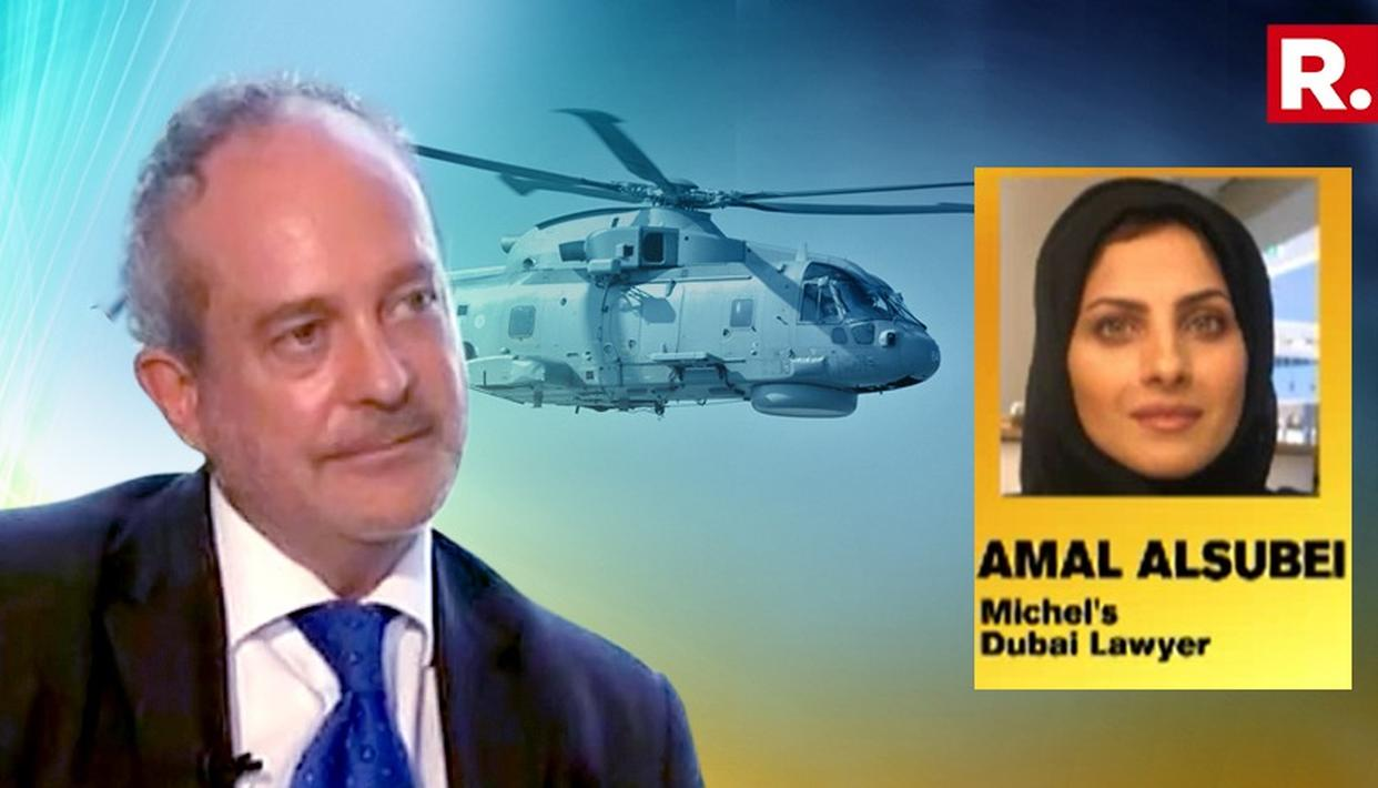 CHRISTIAN MICHEL'S DUBAI LAWYER SAYS 'HE IS IN HIDING'