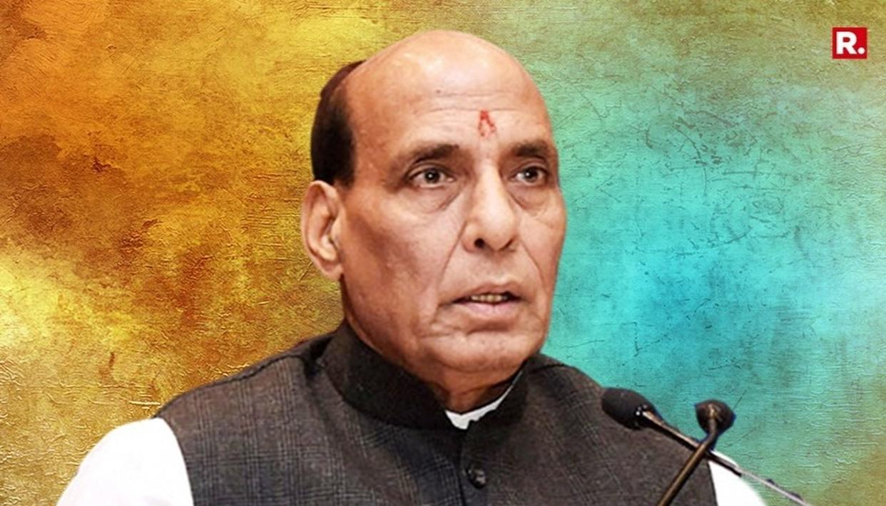 ''J&K PANCHAYAT, URBAN BODY POLLS TO BE HELD ON SCHEDULE'': RAJNATH SINGH