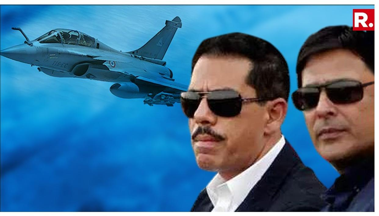 BJP RAKES UP VADRA ANGLE IN RAFALE DEAL