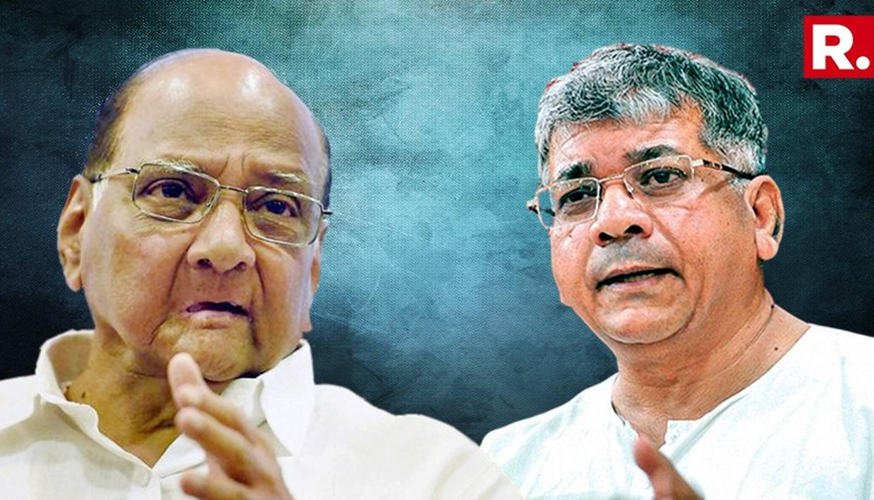 """""""SHARAD PAWAR SHOULD NOT LIE IN STATING THAT HE HELPED ME WIN THE ELECTION 20 YEARS AGO"""", SAYS PRAKASH AMBEDKAR"""