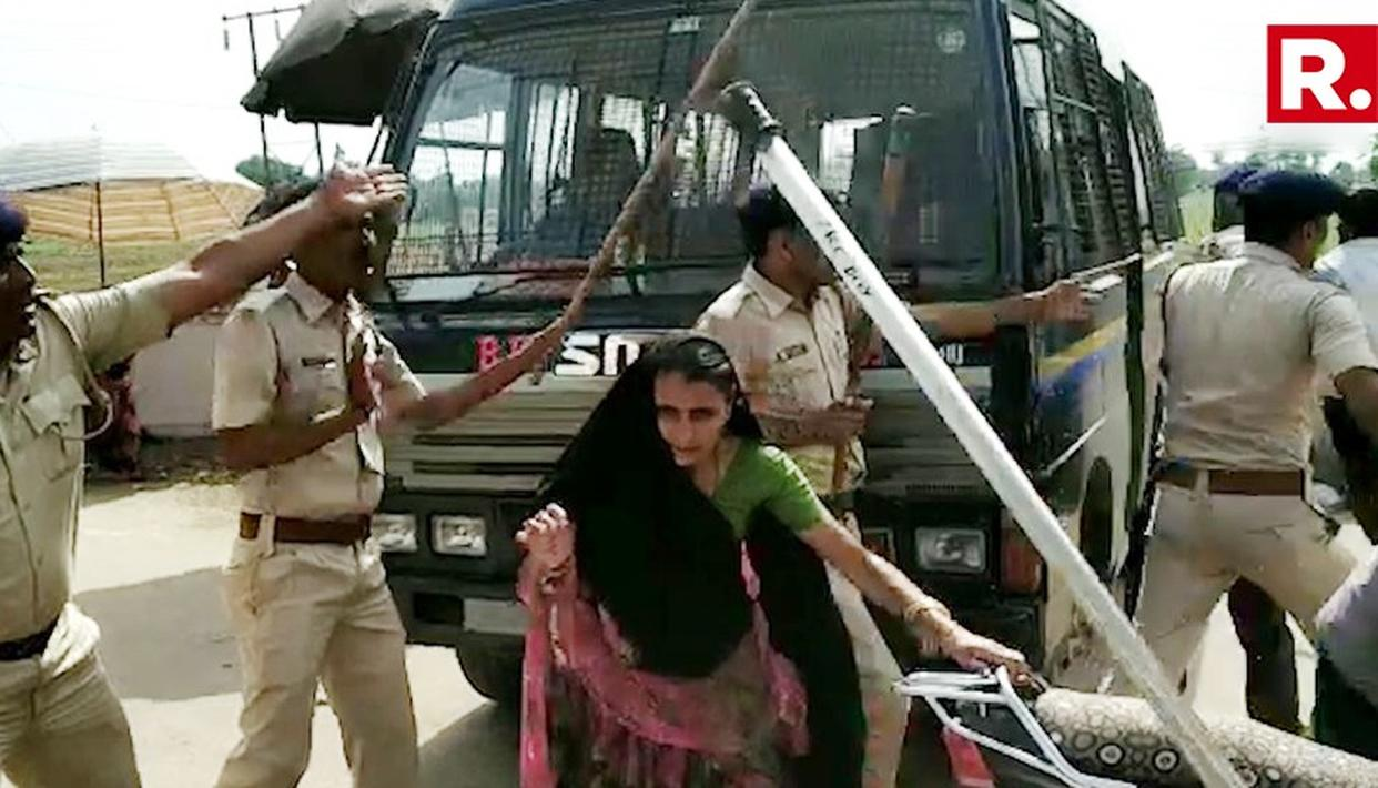 BJP MLA FACES PROTEST FOR 'TORTURING' HIS DAUGHTER-IN-LAW