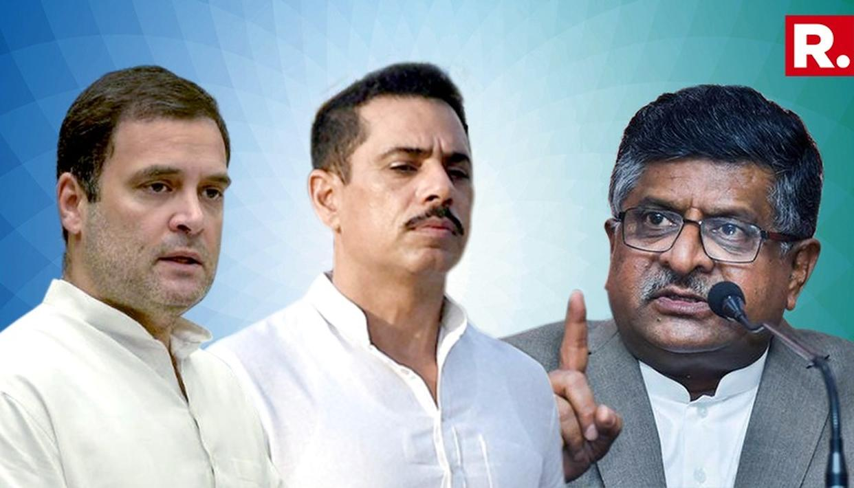 AFTER RAHUL GANDHI DUCKED QUESTION ON VADRA ANGLE, MODI GOVERNMENT HITS BACK
