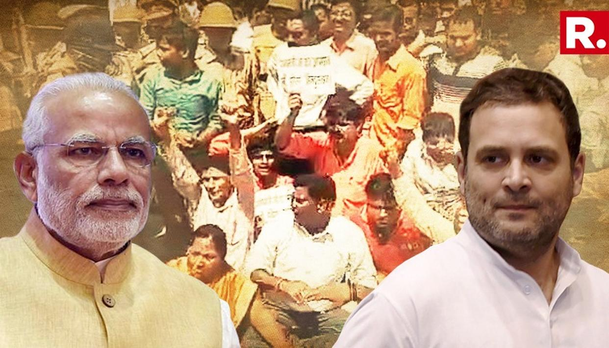 AMETHI PROTESTS RAHUL'S 'FUN IN THE COMING MONTHS' COMMENT