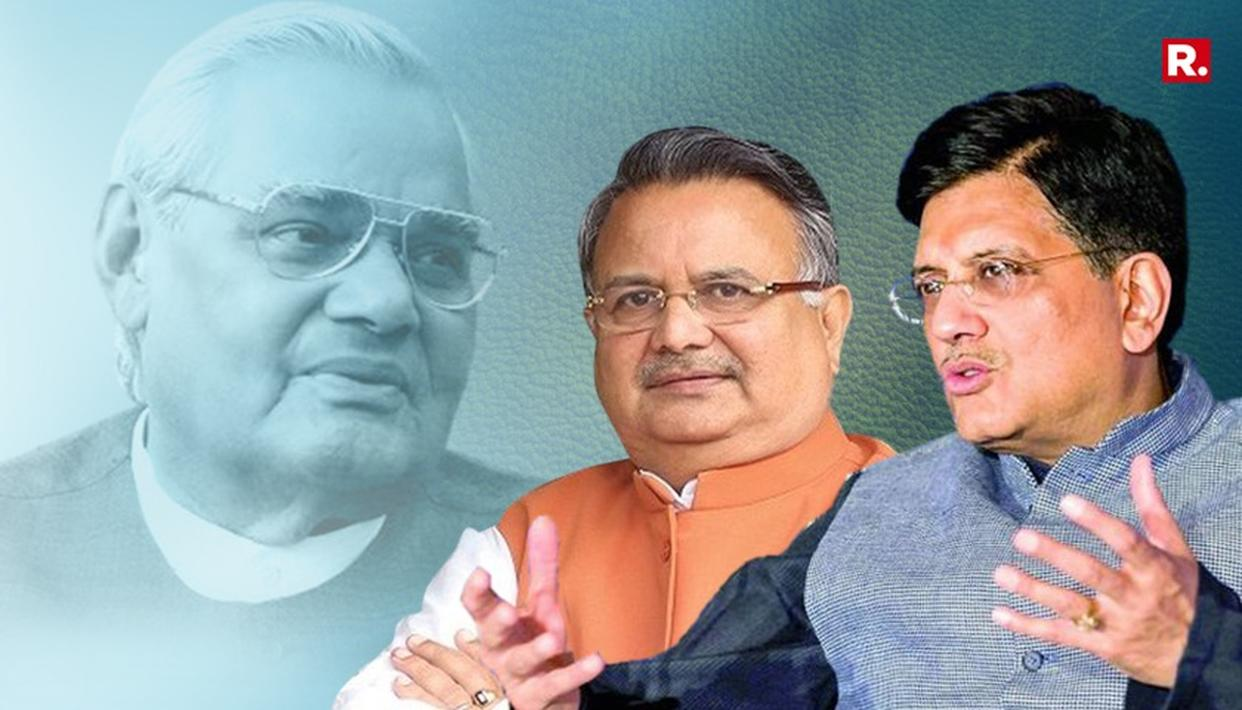 GOYAL: ATAL JI'S DREAM FOR CHHATTISGARH FULFILLED BY RAMAN SINGH