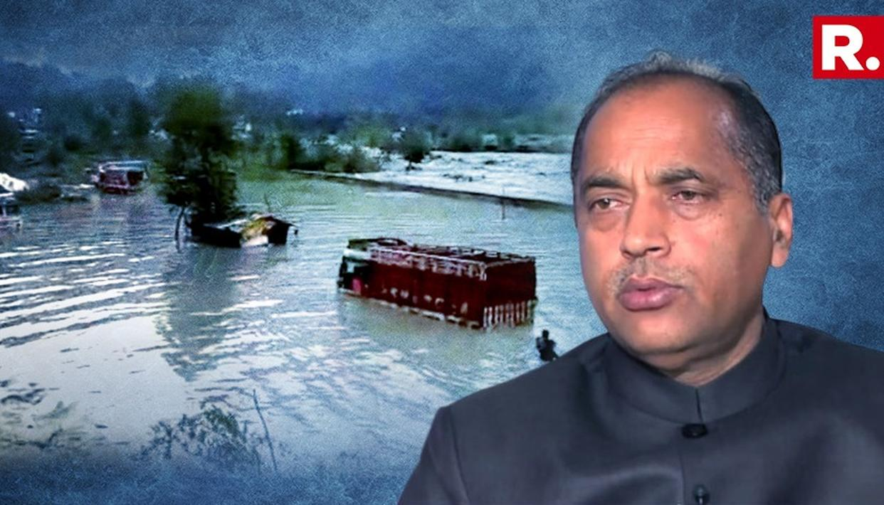 STATE SUFFERED LOSSES OF RS. 1479 CRORE DURING CURRENT MONSOON: HP CM