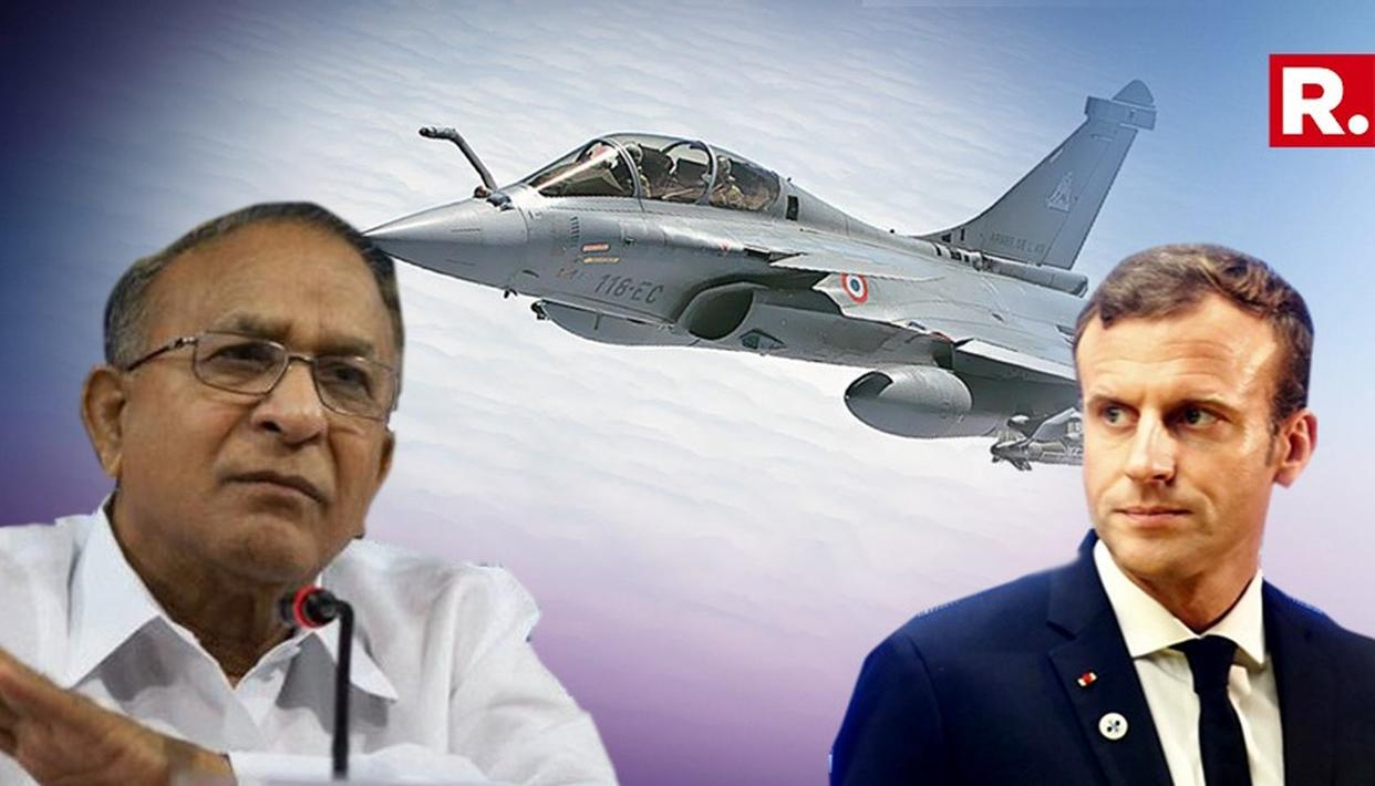 ''MACRON DID NOT COUNTER HOLLANDE'S STATEMENT ON RAFALE'' SAYS FORMER SENIOR CONGRESS LEADER JAIPAL REDDY