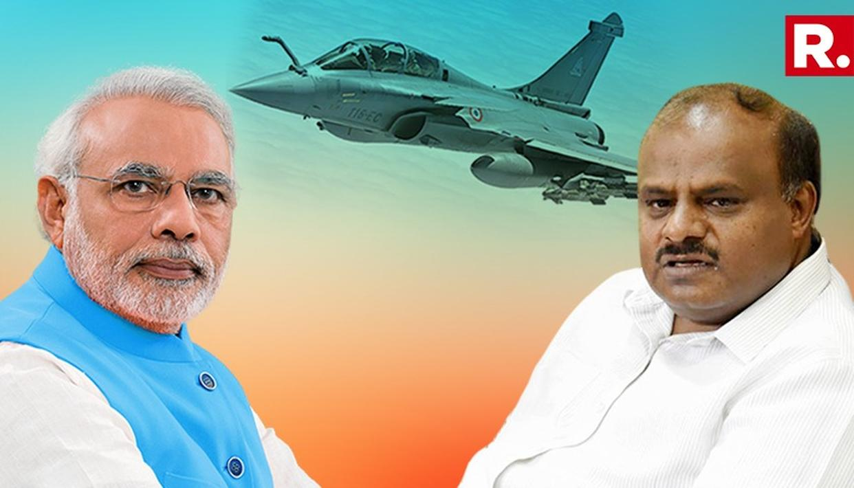 H D KUMARASWAMY ASKS WHY MODI GOVERNMENT FAILED TO PROTECT HAL'S INTERESTS