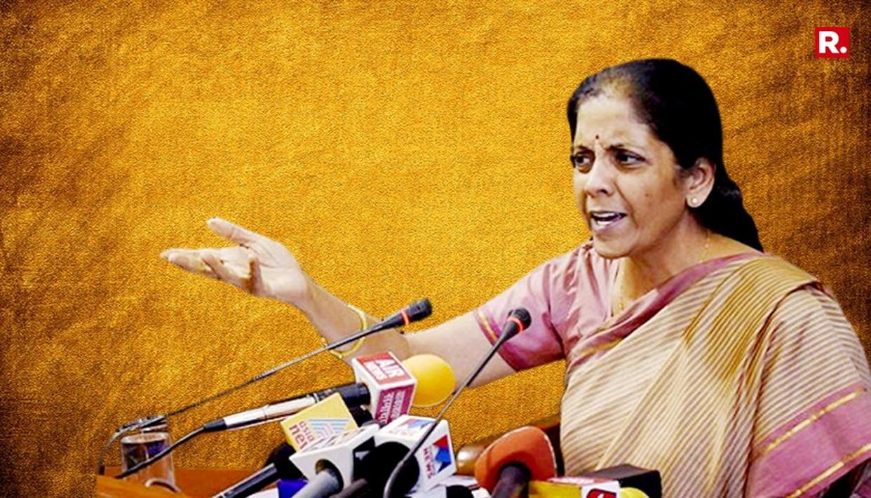 I ASSURE YOU THAT THIS PARTICULAR MODUS OPERANDI WILL BURST: NIRMALA SITHARAMAN