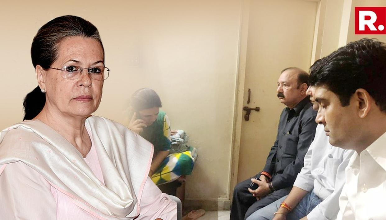 APPLE EMPLOYEE DEATH CASE: SONIA GANDHI SPEAKS TO VIVEK TIWARI'S WIFE