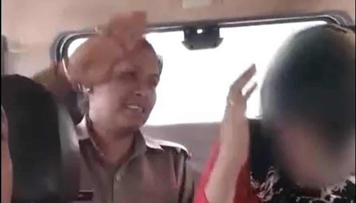 ON TAPE | YOGI'S UP POLICE ASSAULTS HINDU GIRL OVER ALLEGED RELATION WITH MUSLIM