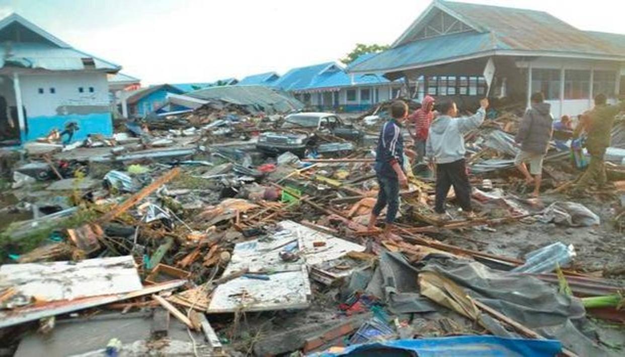 INDONESIA TSUNAMI: DEATH TOLL SHOOTS UP