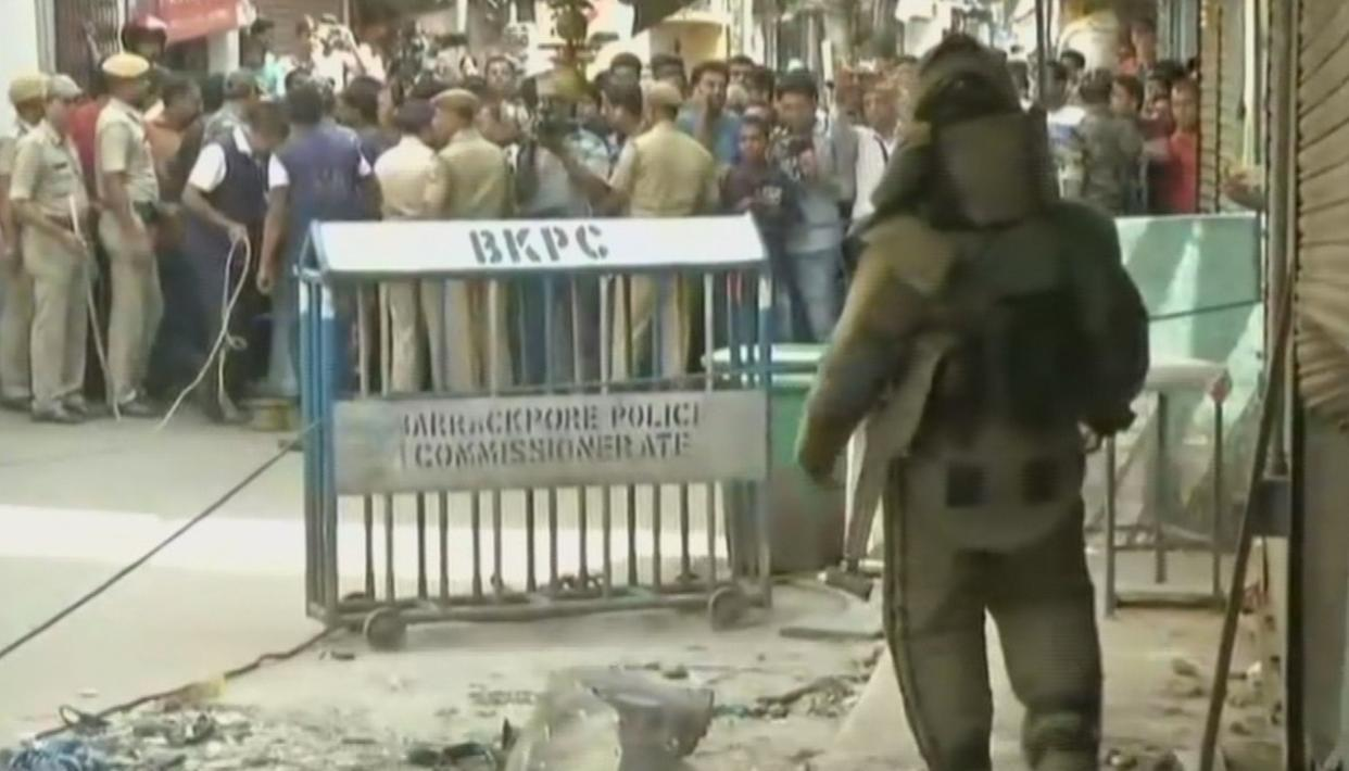 ONE KID DEAD IN KOLKATA BLAST. LIVE UPDATES