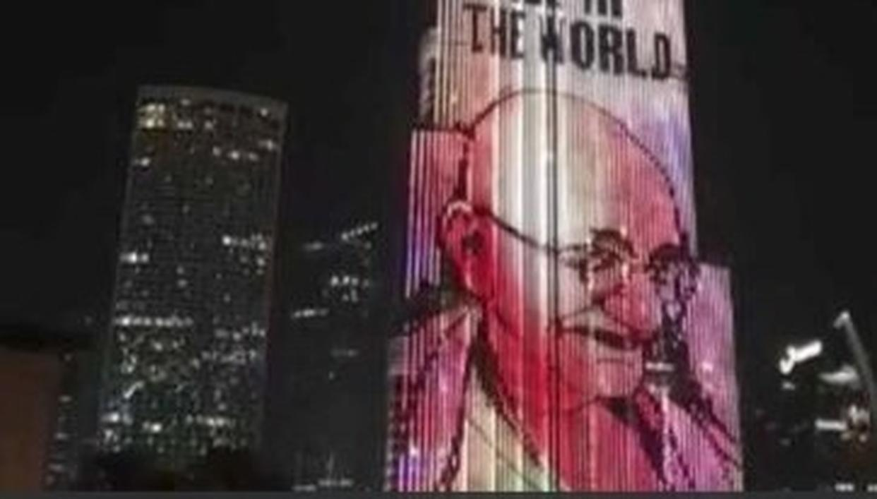 WATCH: DUBAI'S ICONIC BURJ KHALIFA CELEBRATES MAHATMA GANDHI'S 150TH BIRTH ANNIVERSARY
