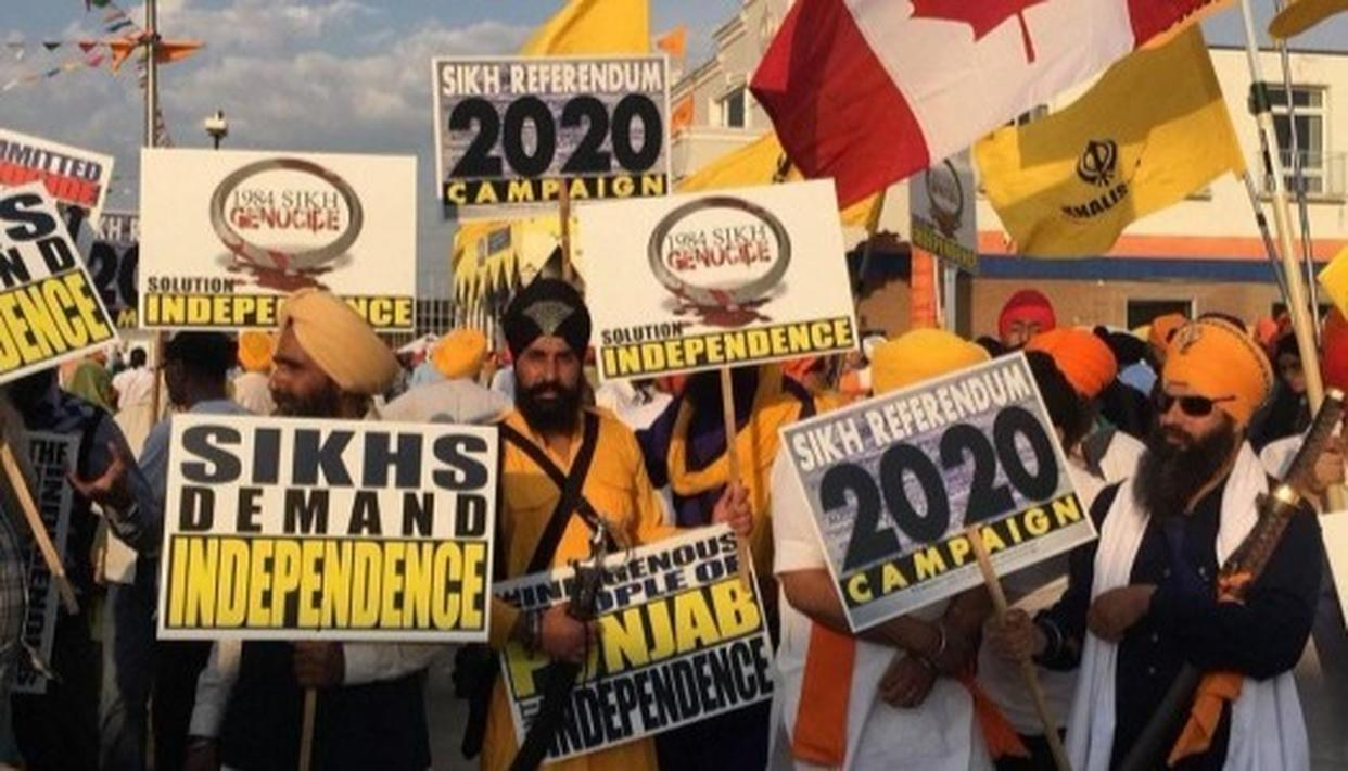 WHAT IS THE KHALISTAN SECESSIONIST DEMAND?