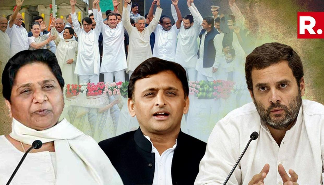 AKHILESH YBATS FOR CONGRESS BEING THE RINGLEADER FOR GRAND ALLIANCE