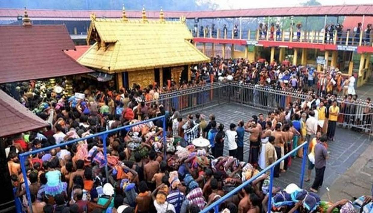 RSS ASKS 'SENTIMENTS OF SABARIMALA DEVOTEES TO BE CONSIDERED'