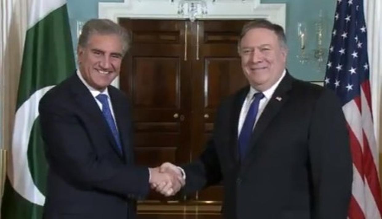 पाक विदेश मंत्री ने भारत से बातचीत करने के लिए अमेरिका की मदद मांगी