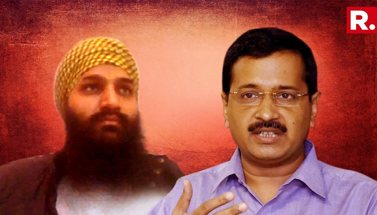 KEJRIWAL DUCKS QUESTION ON ALLEGED KHALISTANI LINK