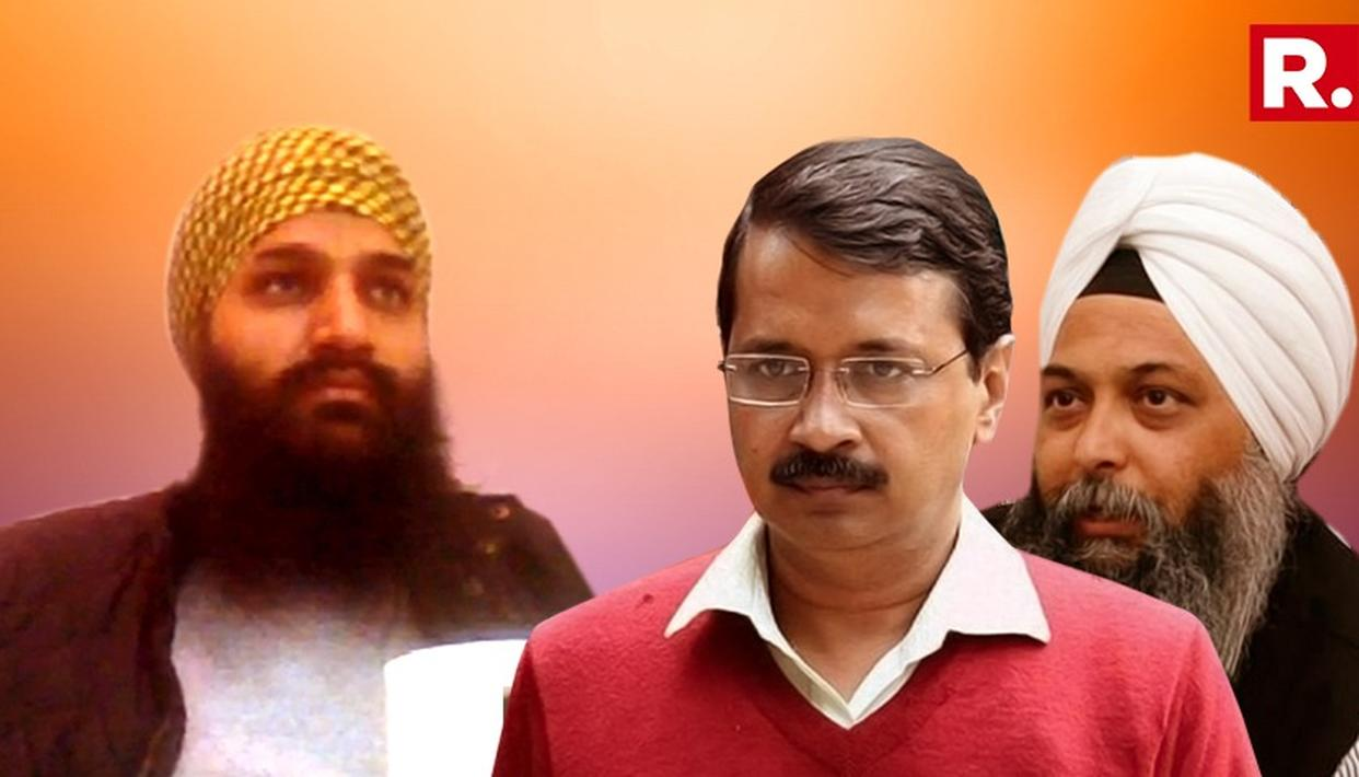 AAP RESPONDS TO KHALISTANI LINK