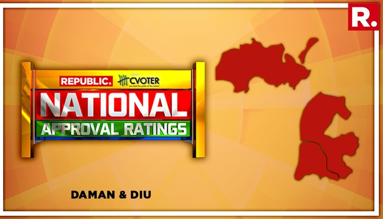 NATIONAL APPROVAL RATINGS: NDA PROJECTED TO WIN THE SOLO SEAT IN DAMAN AND DIU