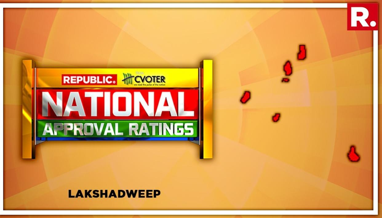 NATIONAL APPROVAL RATINGS: UPA PROJECTED TO RULE LAKSHADWEEP BY ACQUIRING THE SOLO SEAT