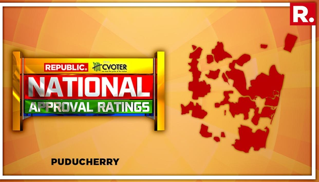 NATIONAL APPROVAL RATINGS: NDA SEAT PROJECTED TO GO TO UPA IN PUDUCHERRY