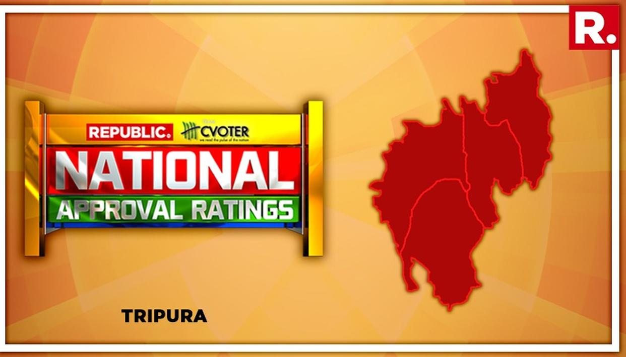NATIONAL APPROVAL RATINGS: NDA LIKELY TO DEFEAT UPA IN TRIPURA