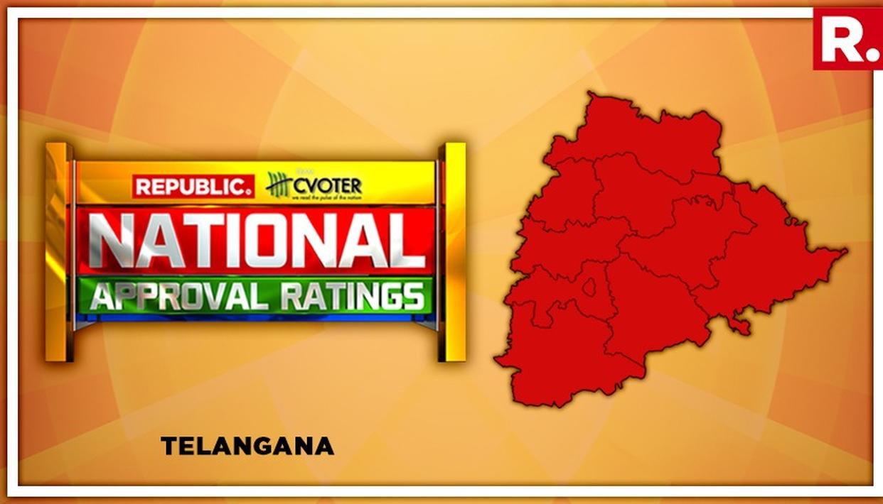 NATIONAL APPROVAL RATINGS: TRS SUFFERS MINOR FALL IN TELANGANA