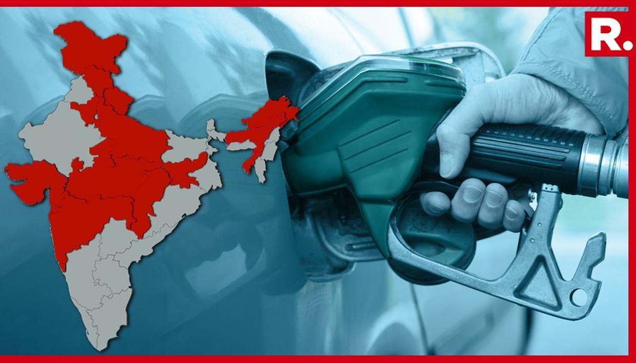FUEL PRICES CUT: LIST OF STATES THAT ANNOUNCED RS. 5 CUT IN FUEL PRICES