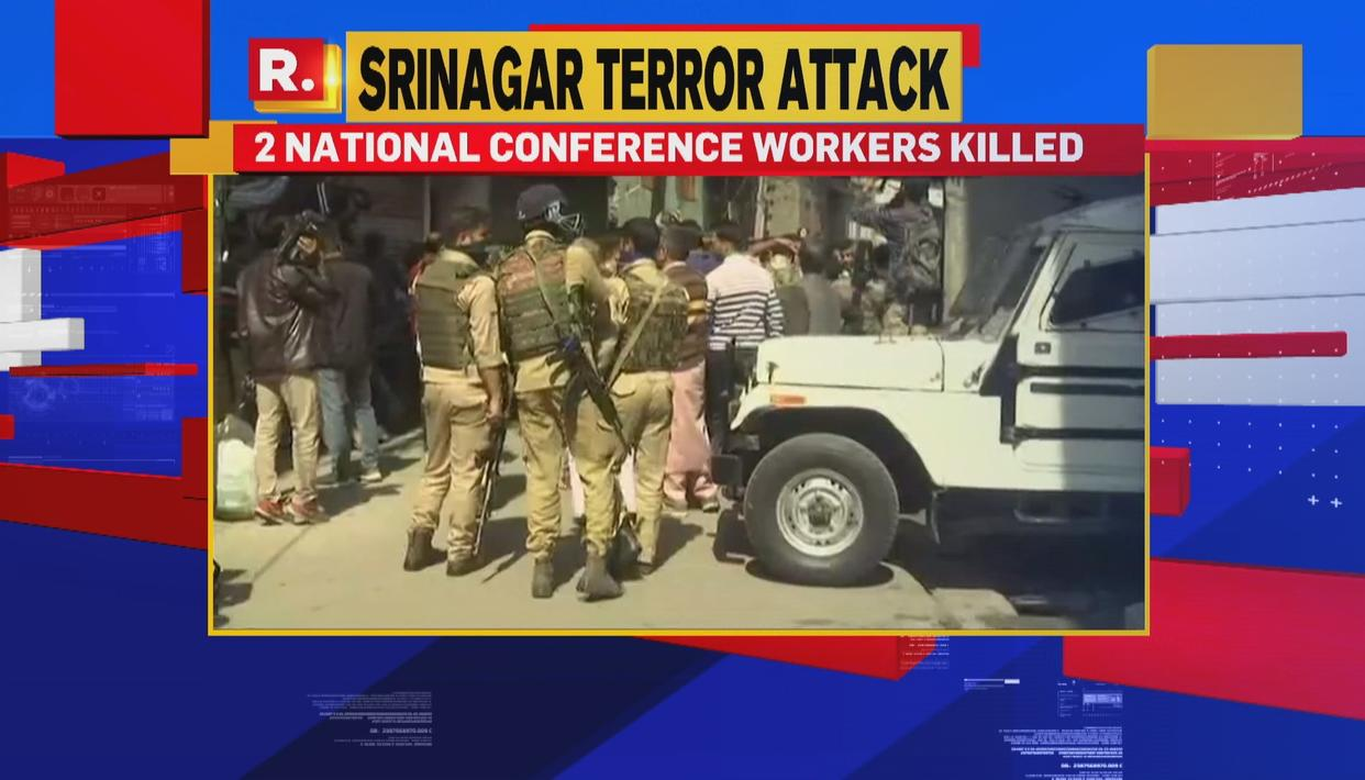 TERROR ATTACK ON NC WORKERS IN J&K