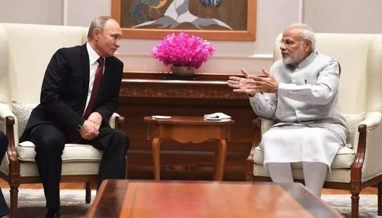 PUTIN IN INDIA: LUNCH MENU FOR RUSSIAN PRESIDENT