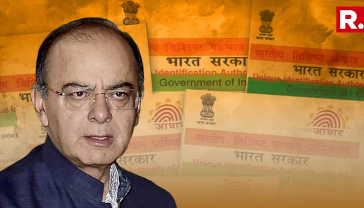 BANKS, TELCOS COULD BE ALLOWED TO USE AADHAAR, SAYS JAITLEY