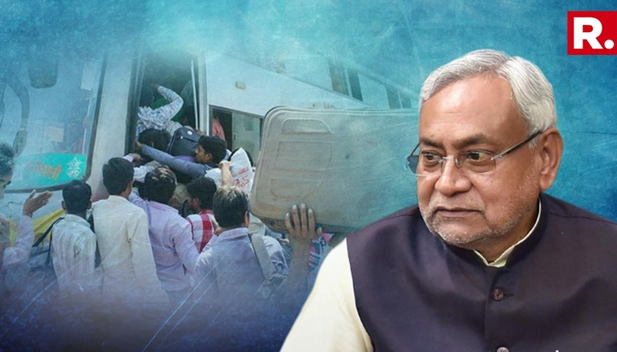 NITISH KUMAR CONDEMNS ATTACKS ON MIGRANTS IN GUJARAT