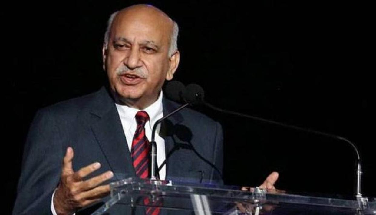 MJ AKBAR ACCUSED OF SEXUAL HARASSMENT