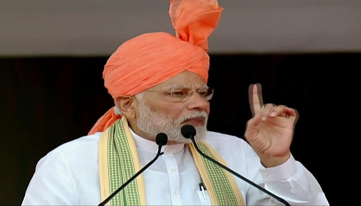 मोदी ने किसान नेता सर छोटू राम की प्रतिमा का अनावरण किया