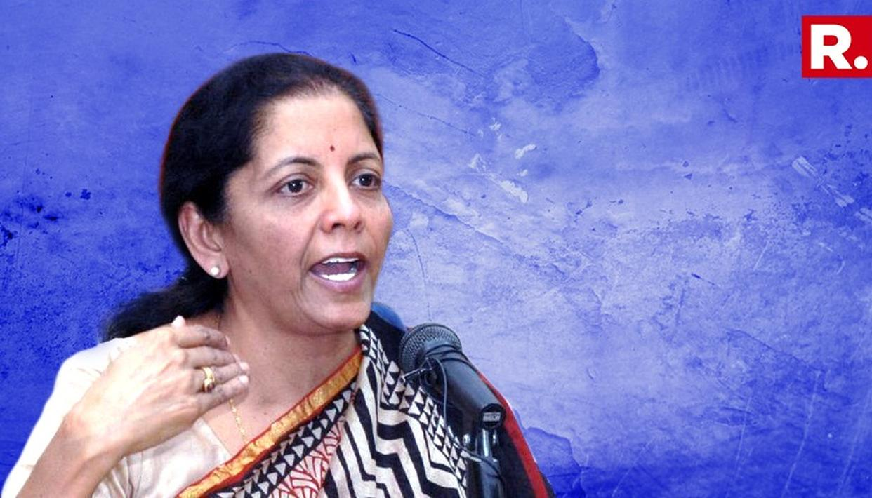 SITHARAMAN BLAMES UPA FOR BAD LOANS, DEFAULTERS FLEEING COUNTRY