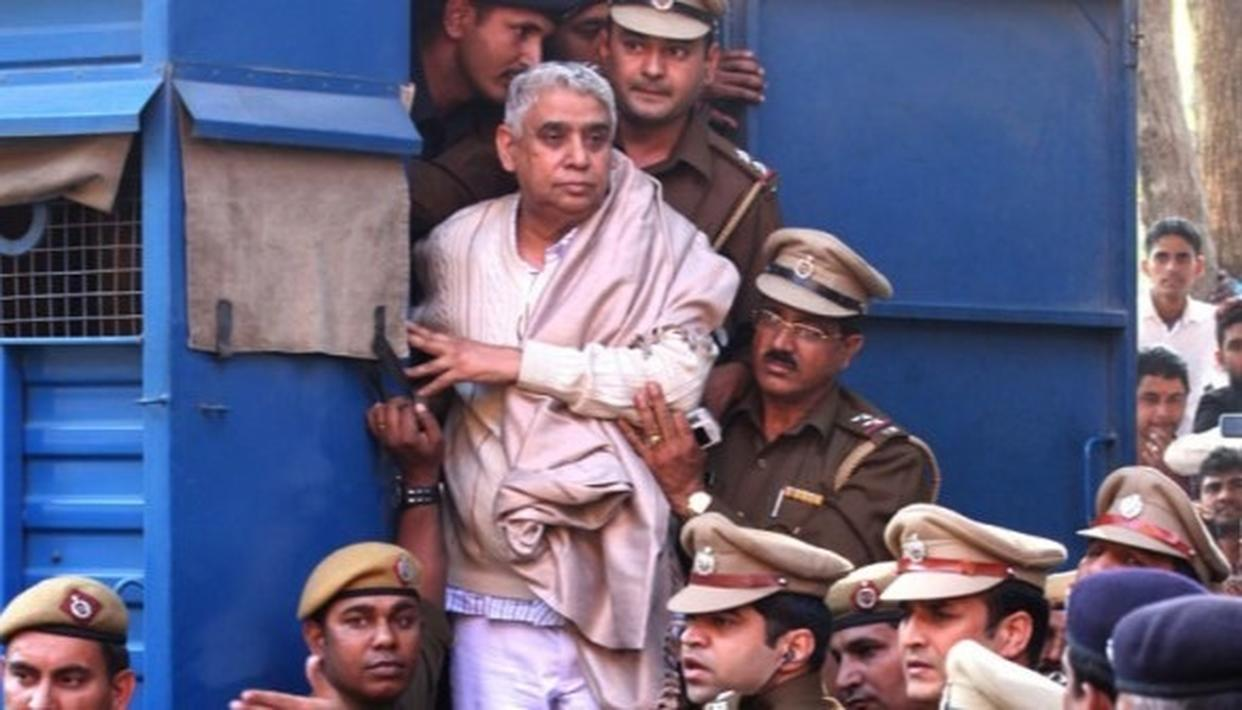 SELF-STYLED GODMAN RAMPAL HELD GUILTY IN BOTH CASES OF MURDER FILED AGAINST HIM