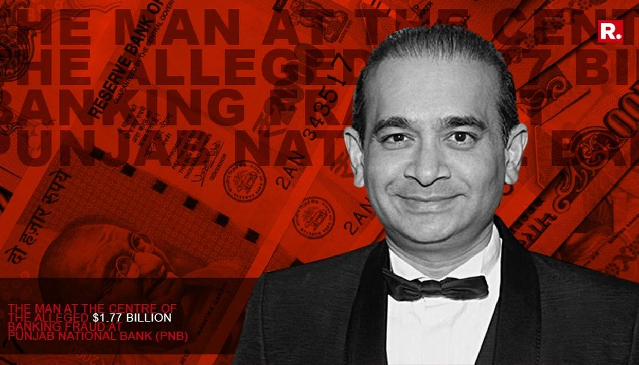NIRAV MODI DECLARED ABSCONDER IN DRI CASE