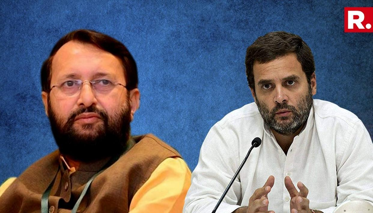 RAHUL LYING TO PEOPLE AT ELECTION RALLIES: JAVADEKAR