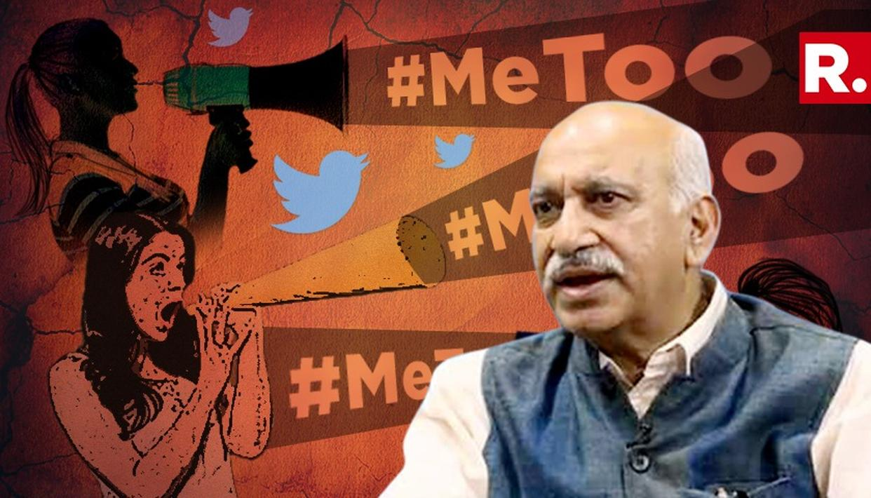 BJP PUT ONUS ON MJ AKBAR AFTER ALLEGATIONS OF SEXUAL HARASSMENT