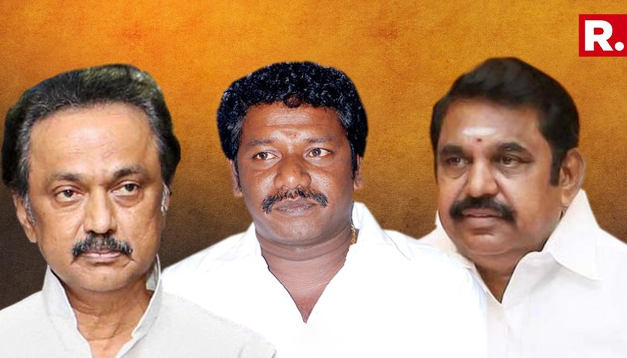 S KARUNAAS CALLS ON DMK CHIEF M K STALIN