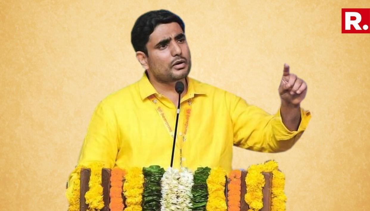 ''WE WILL NOT BE COWED DOWN BY IT RAIDS'' SAYS NARA LOKESH