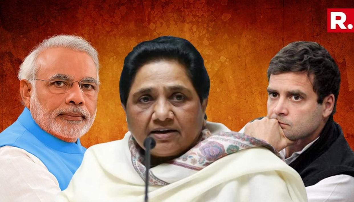 BJP is only playing Hindu card & Congress party is getting jealous of BSP: Mayawati