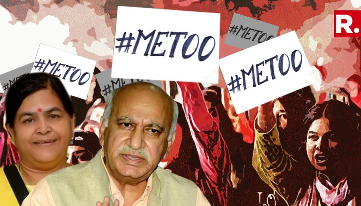 WATCH: BJP LEADER QUESTIONS #METOO MOVEMENT