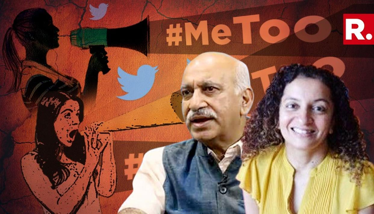 MJ AKBAR ROPES IN 97 LAWYERS TO FIGHT JOURNALIST PRIYA RAMANI; 6 LAWYERS TO APPEAR IN COURT