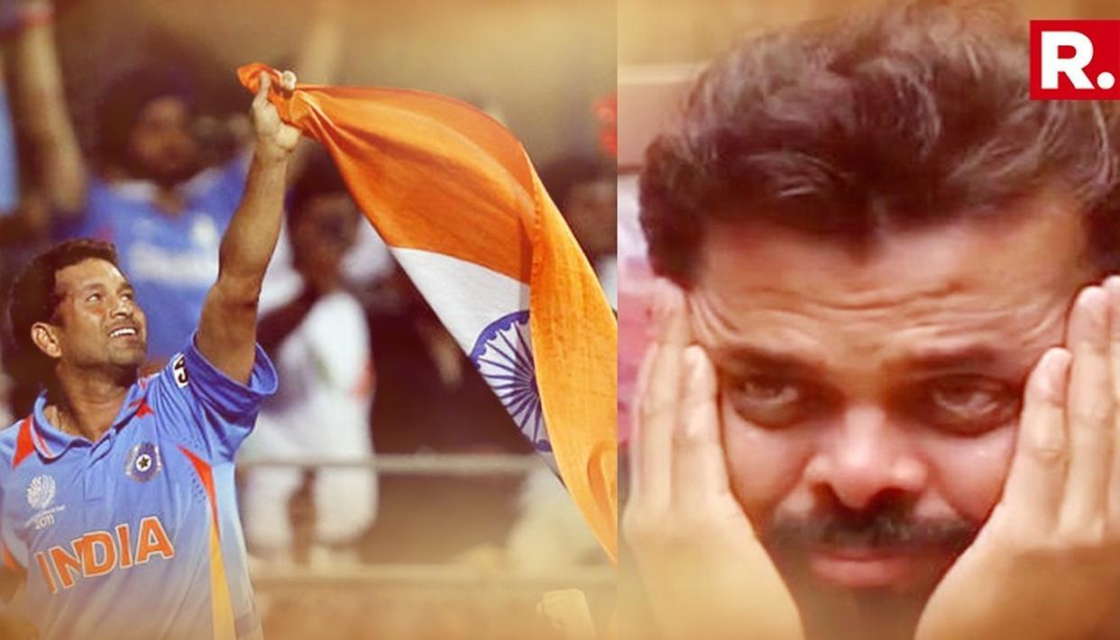 2011 विश्व कप के बाद सचिन तेंदुलकर का वो इंटरव्यू, जिसे देख फूट- फूट कर रो पड़े श्रीसंत...