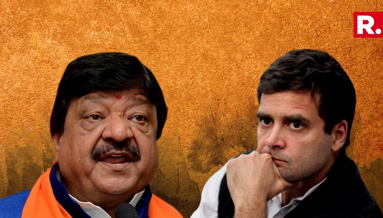 कैलाश विजयवर्गीय ने राहुल गांधी के 'धार्मिक अवतार' पर कसा तंज, कांग्रेस अध्यक्ष की 'रावण' से की तुलना...